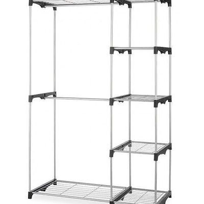 Whitmor Display Rack - 5 Compartment - 68 Height x 45.2 Widt