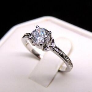 Size 8&9 3ct CZircoinia solid 925 SS non tarnish 100% NEW