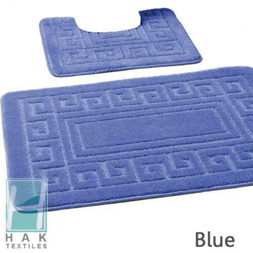 Blue Bathroom Mat Ebay