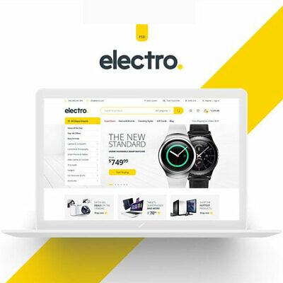Electro Woocommerce Wordpress Theme Latest Version 2.7.0 Fast Delivery