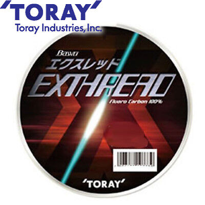 Fluorocarbon Fishing Leader Line TORAY-HYPER GAIA XX 50M #1.2~3.0 5~12lbs