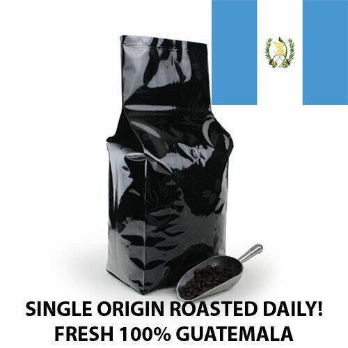 2, 5, 10 LB GUATEMALA FRESH ROASTED COFFEE WHOLE BEAN, GROUND - ARABICA