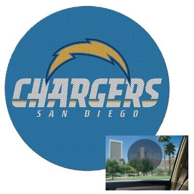 San Diego Chargers Vinyl - San Diego Chargers Perforated 8