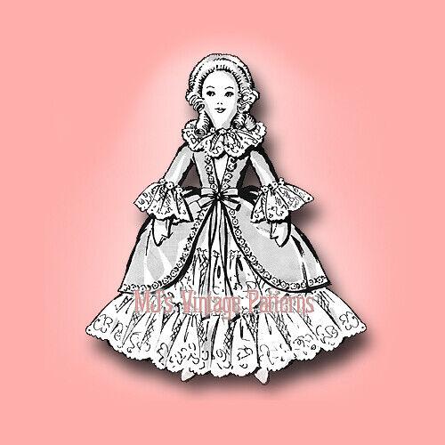 Vintage Boudoir Doll & Dress Pattern ~ Stuffed Cloth Toy