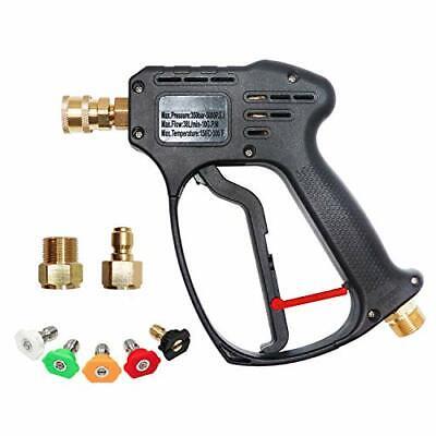 Edou 5000 Psi High Pressure Power Washer Short Gun Kitincludeing 5 Spray Nozz...