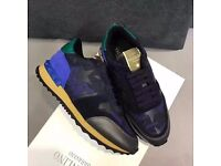 Valentino Rock Runner Sneaker Trainers Free Shipping Mens Womens