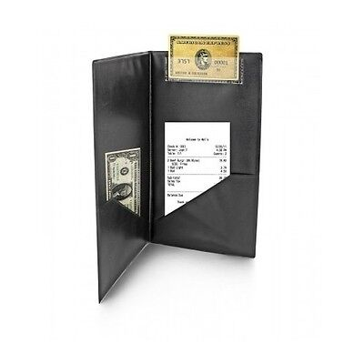 20 Black Guest Check Holder Waiter Credit Card Cash Folder Bar Restaurant Server