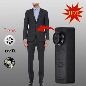 Mini DV Button Fastener Pinhole Camera Bouton VIDEO PHOTO