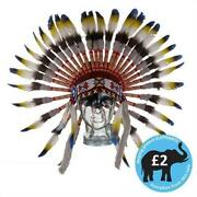 Feather Indian Hat