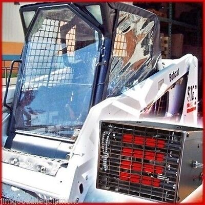 Bobcat Cab Enclosure Kit W Heater 12 Vfits S130s150s160s175s185s205s250