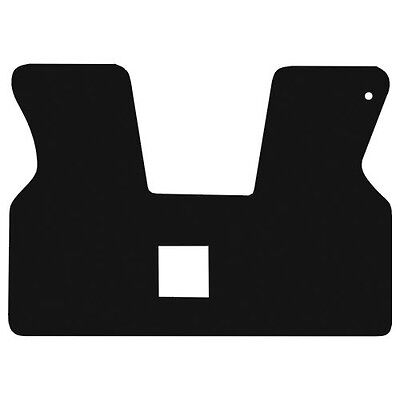 Volkswagen T4 Cab Van All Years Black 3mm Thick Checker Rubber Car Mats