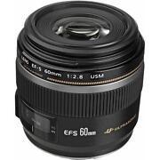 Canon Macro Lens Ef-s 60mm
