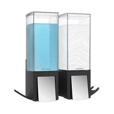 Clever II Seifenspender Wandmontage Seife Bad Spender Soap Dispenser schwarz - Bad-spender