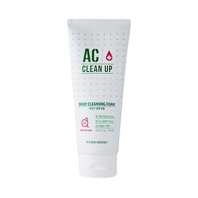[ETUDE HOUSE] AC Clean Up Daily Cleansing Foam - 150ml