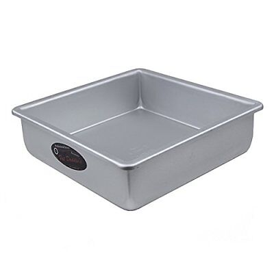 Fat Daddio's Anodized Aluminum Square Cake Pan, 3 High - 10