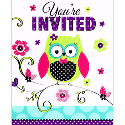 Owls For Baby Shower (Owl Invitations for Birthday or Baby Shower 8)
