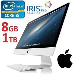 NEW APPLE 21.5 IMAC DESKTOP AIO PC - 132866291 - COMPUTER INTEL I5 8GB MEMORY 1TB HDD INTEL IRIS GRAPHICS OS X 2013 E...