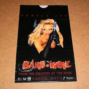 PAMELA ANDERSON BARB WIRE MOVIE 2-SIDED POPCORN BAG