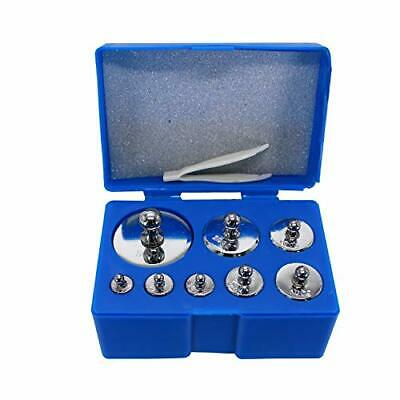 Hfsr Scale Balance Calibration Weight Set - 10-1000g 8pc Set With Case