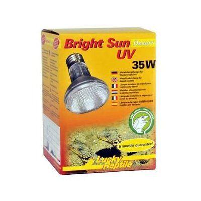 Lucky Reptile Bright Sun UV Desert 35 Watt UVA UVB Strahler Neu