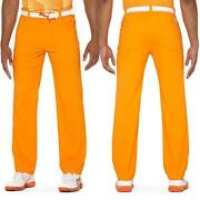 Mens Orange Pants