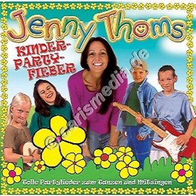 CD: KINDER-PARTYFIEBER - Partylieder zum tanzen & mitsingen - Jenny Thoms °CM°