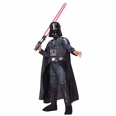 NWT DISNEY BOYS DARTH VADER HALLOWEEN COSTUME - - Dark Vader Kostüm