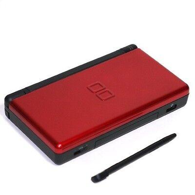 Nintendo DS Lite Crimson & Black Handheld System