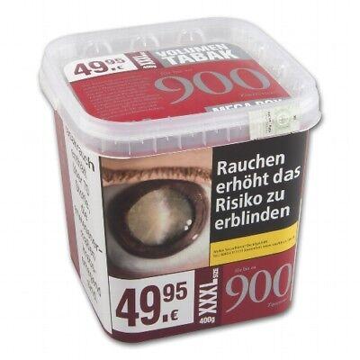 Burton Red Zigarettentabak 400 g Eimer XXXL zum Stopfen NEU