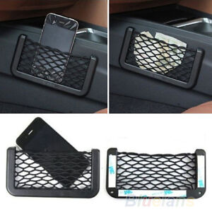UNIVERSAL-CAR-SEAT-SIDE-BACK-NET-STORAGE-BAG-PHONE-HOLDER-POCKET-ORGANIZER-BF4K