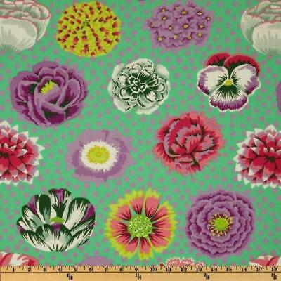 Used, Fat Quarter Kaffe Fassett Big Blooms GREEN - Cotton Quilting Fabrics for sale  Shipping to Ireland