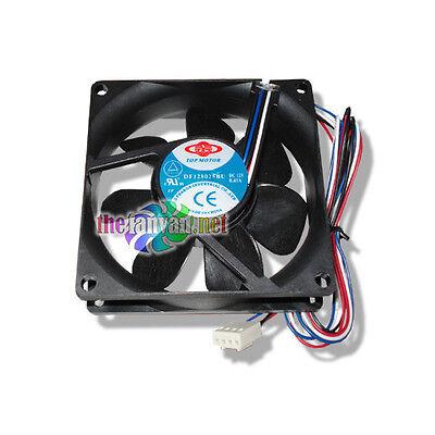 80mm X 25mm 4 Pin Pwm Fan Replacement 4 Wire Case Or Cpu Fan