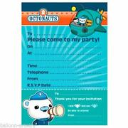 Octonauts Invitations
