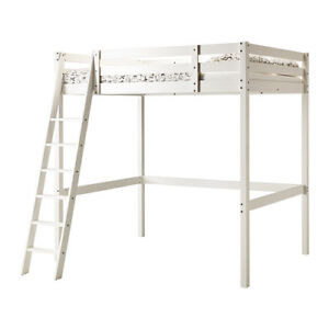 IKEA Stora Loft Bed Frame with Desk / Table Top