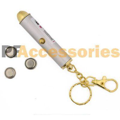 NEW Ultra Powerful Red Laser Pointer Presentation Pen Beam Light 5mw Key Chain