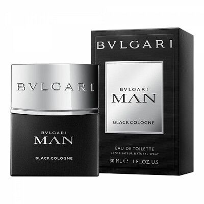 BVLGARI MAN BLACK COLOGNE 30ML EAU DE TOILETTE SPRAY BRAND NEW & SEALED