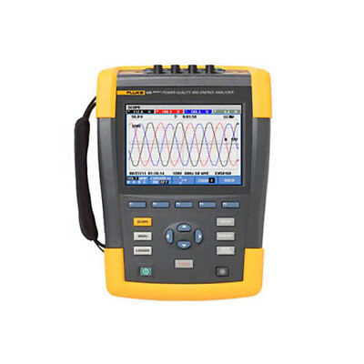 Fluke 435-iibasic 3-phase Power Qualityenergy Analyzer No Probes