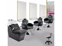 Salon Chair and salon Mirror Package Salon Furniture complete package