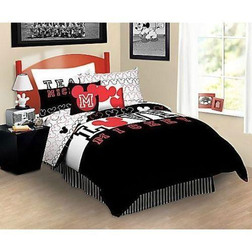 Mickey Mouse Twin Bedding Ebay