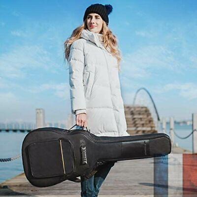 Housse Guitare Nylon Oxford Etui Etanche Poches Externes Classique Protection