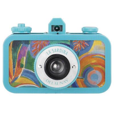 Lomography La Sardina Delaunay Edition 35mm Wide-Angle Lens Analog Film Camera i