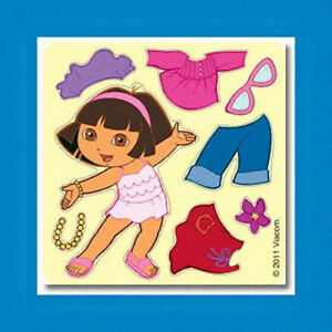 15-Make-Your-Own-Dora-the-Explorer-Stickers-Party-Favor