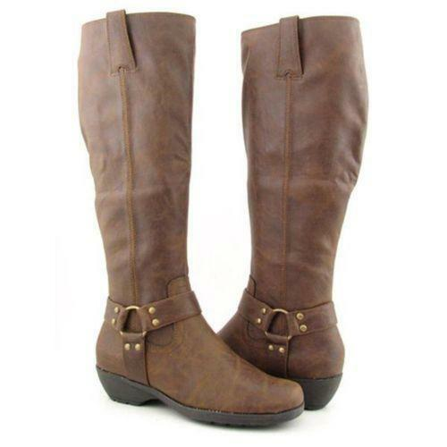 Plus Size Wide Calf Boots | eBay