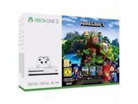New/Sealed Xbox One S Console - Minecraft Adventure Bundle game - 500 GB, 4k HD - like PS4
