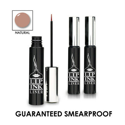LIP INK® Organic 100% Smearproof Liquid Lip Liner  NATURAL waterproof vegan new 100% Natural Lip Liner