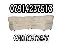 3&2 or Corner Leather Sofa Range Cash On Delivery 544