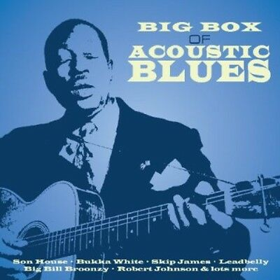 Various Artists - Big Box of Acoustic Blues / Various [New CD] UK - Import