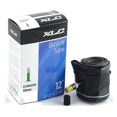 """XLC Inner Tube 12-1/2"""" X 2-1/4"""" Schrader 35mm Valve Tube Kids Bike Bicycle"""