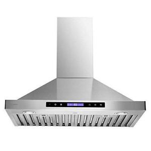 860 CFM Convertible Wall Mount Range Hood - 30 inches