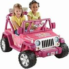 Barbie Jeep Ride-Ons & Tricycles